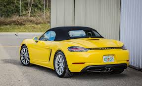porsche boxster rear 2017 porsche 718 boxster cars exclusive videos and photos updates