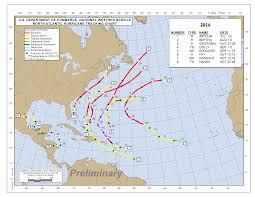 Hurricane Map 2014 Atlantic Hurricane Season Review Quiet Basin Quieter Rio