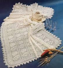 Crochet Table Cloth Best 25 Crochet Tablecloth Pattern Ideas On Pinterest Crochet