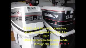 how to convert a johnson or evinrude 9 9 hp to 15hp 1974 1992 2