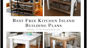 free kitchen island plans impressive kitchen island plans free home design ideas small