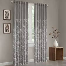 Yellow And Gray Window Curtains Buy Yellow Decorating Window Treatment From Bed Bath Beyond