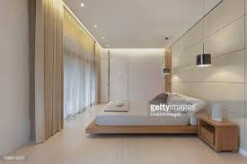 Minimalistic Bed Platform Bed Stock Photos And Pictures Getty Images