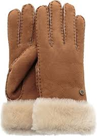 ugg gloves sale office amazon com ugg turn cuff glove clothing
