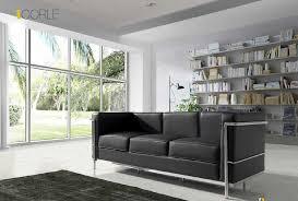 canap fauteuil cuir canapé design moderne 3 places 2 places fauteuil cuir noir