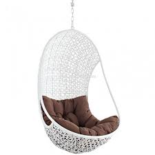 furniture unique way of arranging your patio with swingasan chair