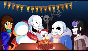 1 yr anniversary undertale paraversetale 1 yr anniversary by spacejacket on