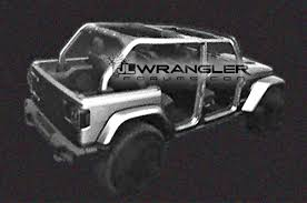 Jeep News And Rumors 2018 Jeep Wrangler Unlimited Revealed In Leaked Cad Renderings