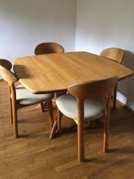 Mid Century Dining Room Furniture Mid Century Dining Table Four Chairs From Juul Kristensen For