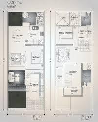 desain rumah lebar 6 meter desain tak rumah tipe klaten 6x16m2 aguscwid com aguscwid