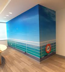 wall murals arte design print services wall mural for business interiors