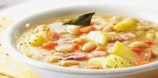 cuisiner les haricots blancs frais soupe paysanne aux haricots blancs facile et pas cher recette
