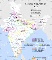 Gujarat Blank Map by Railway Network Map Maps Of India