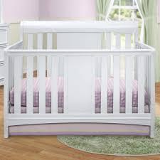 Sleigh Bed Crib Delta Children Bennington Sleigh 4 In 1 Convertible Crib White
