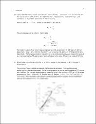 henry u0027s law is p i u003d k h x i solving for the mole fraction yields
