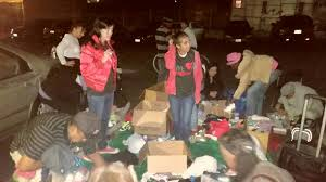 food clothing for the homeless of san diego streets of