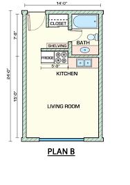 tucson student housing floor plans
