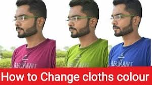 hmongbuy net how to change dress clothes colour in picsart