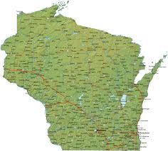 Milwaukee Wisconsin Map by Wisconsin Map Jpg