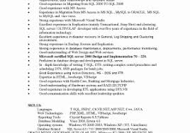 Oracle Sql Resume Oracle Dba Tester Sample Resume Download Qa Consultant Resume Sample