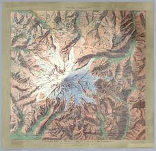 Map Of Glacier National Park Gorgeous 1914 Relief Maps Of Six National Parks