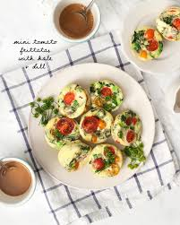petites cuisines am ag s mini tomato frittatas with dill recipe and lemons