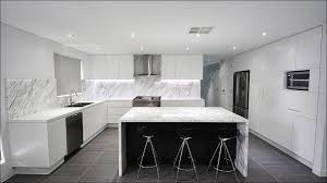 Blue Kitchen Tiles Ideas - kitchen grey and white kitchen cabinets tile countertop edge
