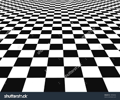 Black And White Checkered A Large Black And White Checker Floor Background Patternblack