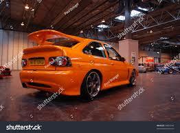 lexus dealer birmingham uk birmingham england july 5 orange ford stock photo 74851549