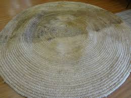 Round Straw Rug by Rugged Marvelous Kitchen Rug Overdyed Rugs As How To Clean A Jute