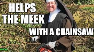 Chainsaw Meme - a real pipe hitter for jesus imgflip