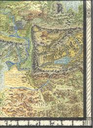 Lotr Map Council Of Elrond Lotr News U0026 Information Middle Earth Map By