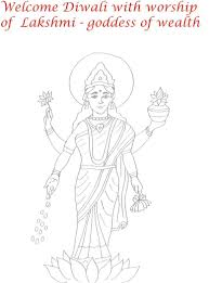 coloring download lakshmi coloring pages lakshmi devi coloring