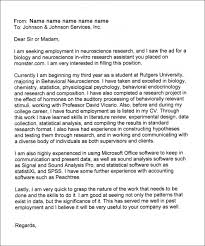 Cover Letter Examples Research Assistant Scholarship Cover Letter Sample My Document Blog