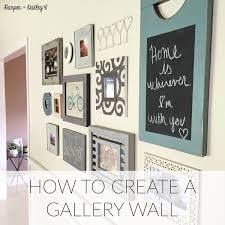 How To Design A Gallery Wall How To Create A Gallery Wall U2014 Harper Oakley