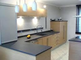 cuisine grise plan de travail noir plan de travail cuisine gris clair cuisine gris clair et blanc best
