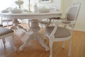 Summer Deal Antique Shabby Chic Dining Table Six Chairs