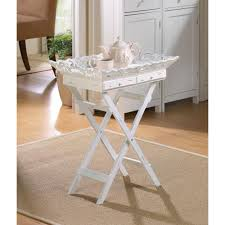 shabby chic tray table wholesale at koehler home decor