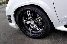 lexus wald wheels wald lexus lx570 sports line black bison edition