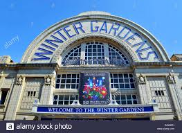 the winter gardens theatre in blackpool lancashire uk stock
