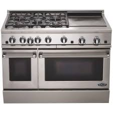 48 Inch Cooktop Gas Dcs Ranges 48 Inch Natural Gas Range With Griddle By Fisher Paykel