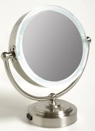 conair led lighted mirror top 54 skookum jerdon lighted makeup mirror wall mounted conair led