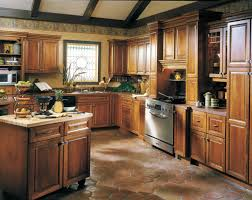cool white color wooden kraftmaid kitchen cabinets come with