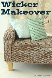 Can You Paint Wicker Chairs 144 Best Wicker Images On Pinterest Rattan Furniture Painted