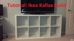 Ikea Expedit 5x1 by Tutorial Ikea Kallax Expedit Build Youtube