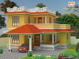 1170 square feet 3 bedroom kerala style double floor home design