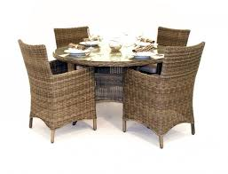 rattan kitchen furniture furniture spacious wicker rattan dining table and chairsi for