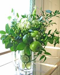 How To Make A Flower Centerpiece Arrangements by 4 Diy Green Flower Arrangements For St Patrick U0027s Day Hgtv