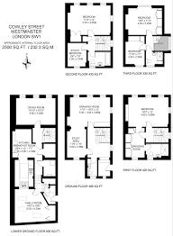 georgian terraced house floor plan