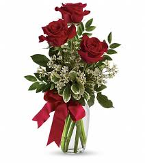 Austin Tx Flower Shops - thoughts of you bouquet with red roses in austin tx diana u0027s